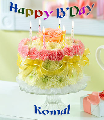 Happy Birthday Komal Shayri Com
